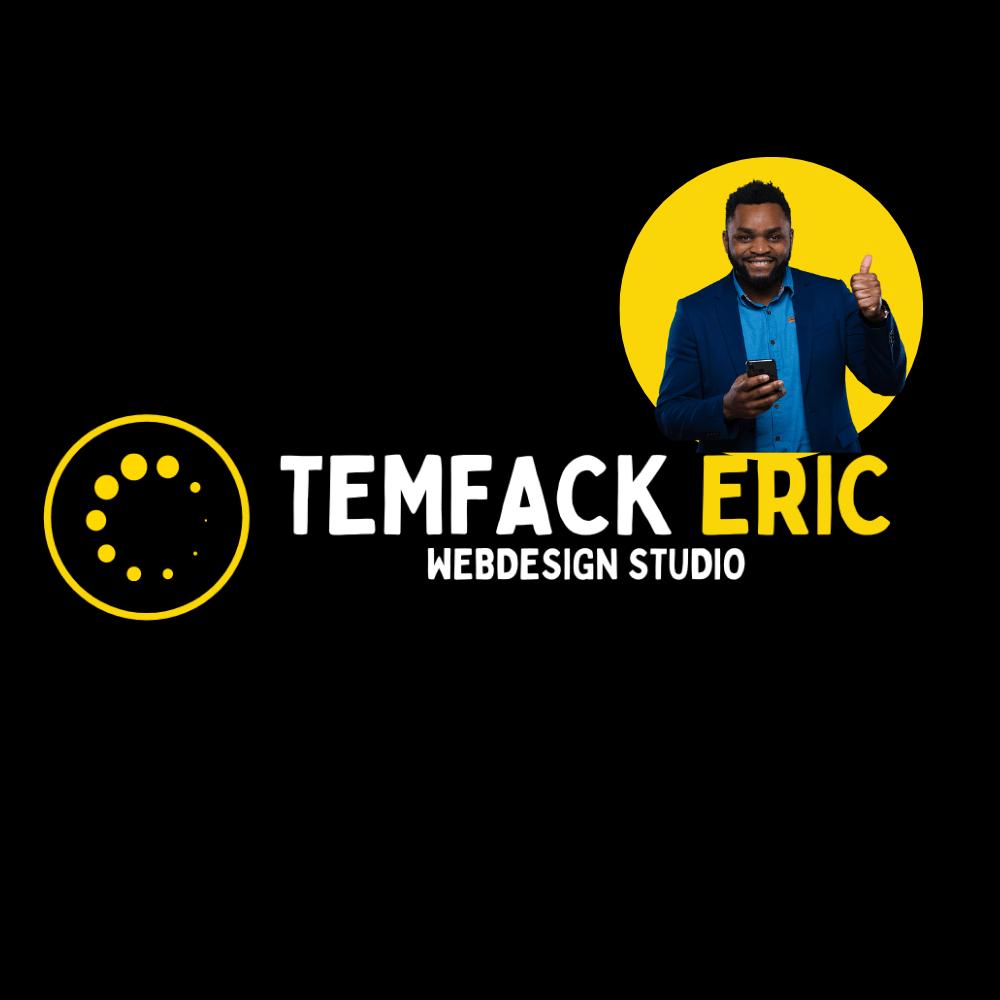 Temfackeric.com | Création Site web🥇 | TEWS | Webdesigner & Chef de projet digital